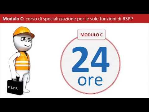 Corso RSPP / ASPP - Modulo A