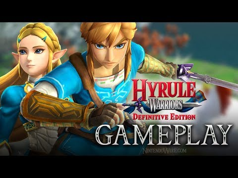 connectYoutube - Hyrule Warriors: Definitive Edition   Breath of the Wild Costume Gameplay (Nintendo Switch)