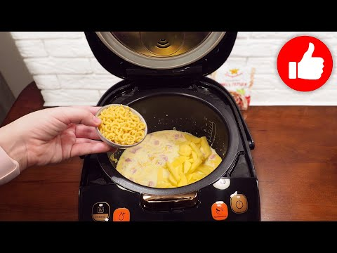 Такой супчик хоть каждый день подавайте! Суп с сыром и колбасой в мультиварке!