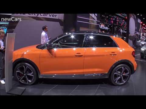The 2020 AUDI A1 citycarver