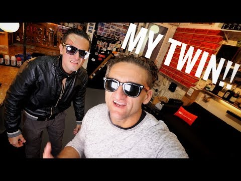 connectYoutube - Meeting My TWIN!!!