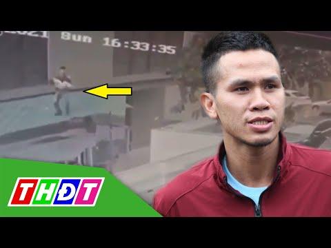 Thêm đoạn clip cho thấy nỗ lực cứu bé gái rơi từ tầng 12 của anh  Nguyễn Ngọc Mạnh | THDT