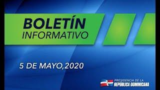 Boletîn 5\ 5\ 2020 acciones contra el coronavirus