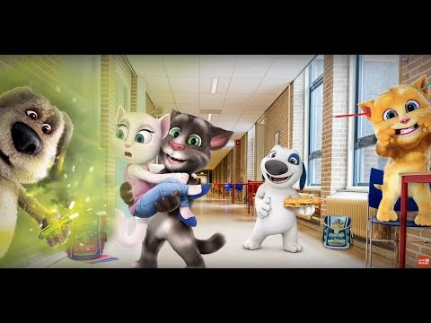 My Talking Angela Great Makeover My Talking Tom Episode Full Game for Children HD Top Gameplay