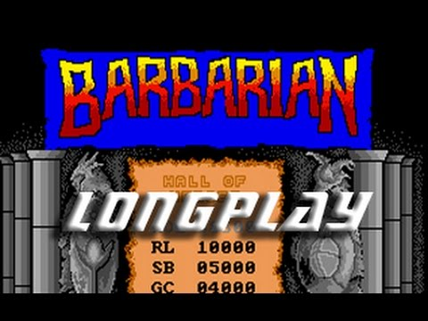 Barbarian The Ultimate Warrior (Amiga) Longplay