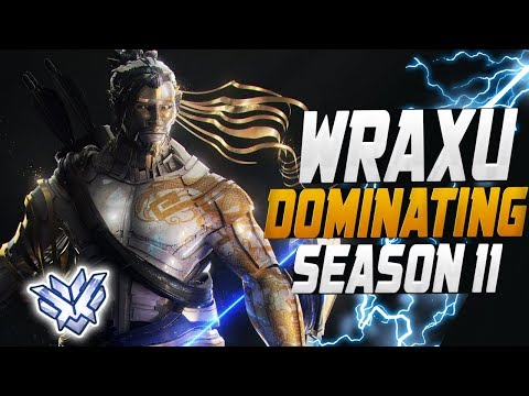 BEST Hanzo Carry by - Wraxu! ( Rank #1 Overbuff ) [ OVERWATCH SEASON 11 TOP 500 ]