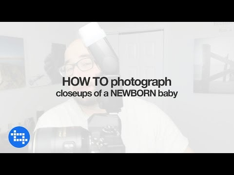 How photograph closeups of a newborn baby