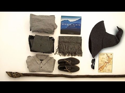 What would a wizard pack on a trip to New Zealand?