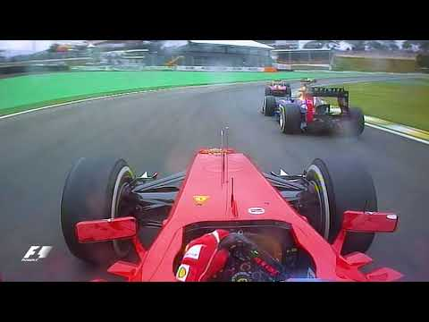 Alonso?s Amazing Two-In-One Overtake | 2012 Brazil Grand Prix
