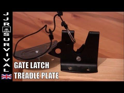 Treadle Plate Snare Trap