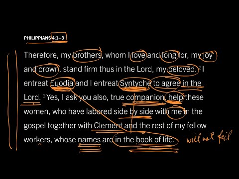 Philippians 4:2–3 // Part 4 // Why Does It Matter That Their Names Are in the Book of Life?