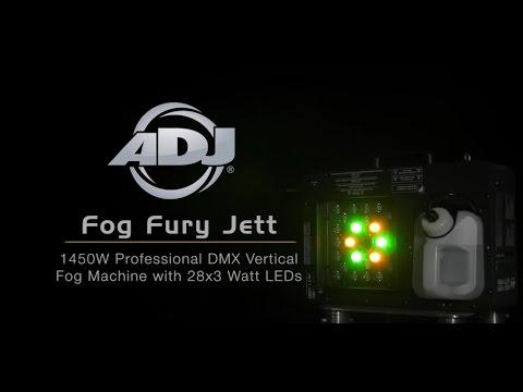 American DJ Fog Fury Jett Pro High Output Multi Positional Fog Machine
