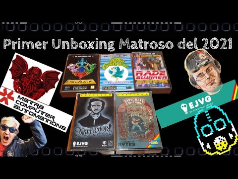 Primer Unboxing Matroso del 2021: Homebrew Spectrumero