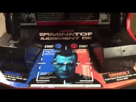 Terminator 2 Arcade Game