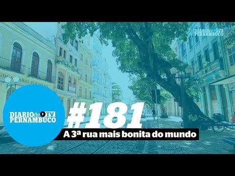 Rua do Bom Jesus está no topo do ranking das mais belas, diz revista americana