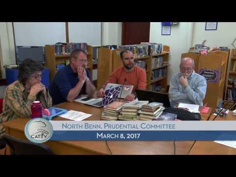 North Bennington Prudential Committee - 3/8/17