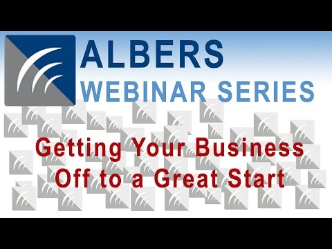 Getting Your Business Off to a Great Start