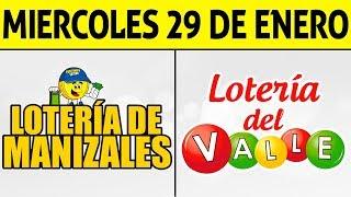 Resultados Lotería de MANIZALES y VALLE Miércoles 29 de Enero de 2020 | PREMIO MAYOR ????????????
