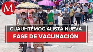 Próxima semana, CdMx vacunará contra covid a personas de 50 años en Cuauhtémoc