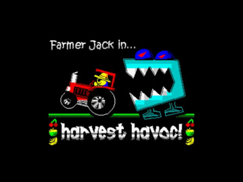 Canal Homebrew: Farmer Jack in Harvest Havoc! (Cronosoft) Spectrum