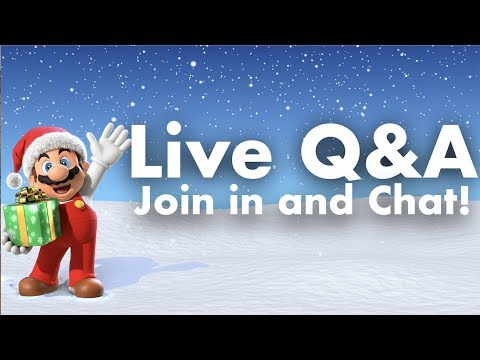 LIVE Q&A! Join in and Chat!