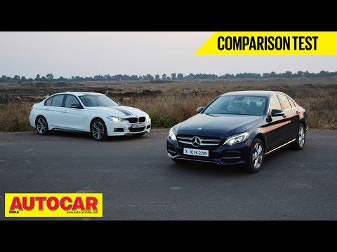 Mercedes-Benz C 220 CDI VS BMW 320d | Comparison Test - BMW Videos