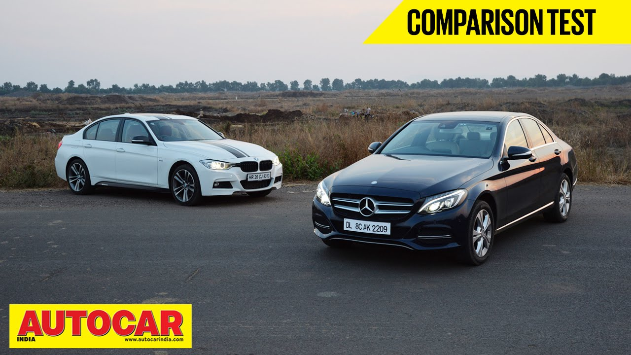 Mercedes-Benz C 220 CDI VS BMW 320d   Comparison Test - BMW Videos