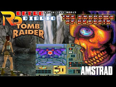 RetroDiario Noticias Retro (05/10/2017) #0015 - Tomb Raider,The Shadows of Sergoth, Sonic 3D Blast..