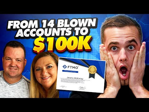 From 14 Blown Accounts To $100K FTMO Funded Trader