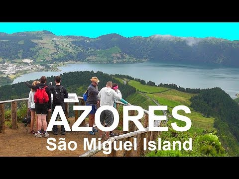 AZORES: São Miguel -Portuguese volcanic island