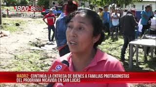 NICAVIDA potencia el desarrollo de comunidades en San Lucas, Madriz -  Nicaragua