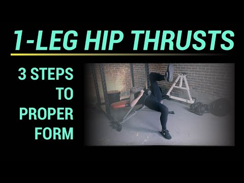 1-Leg Hip Thrust