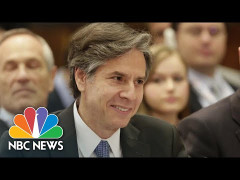 How Anthony Blinken Plans To Restore Relations With China | NBC News NOW