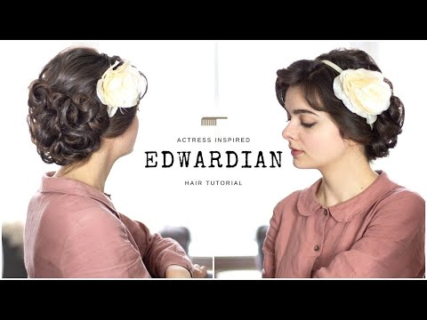 Soft Edwardian Hairstyle | Tutorial