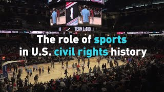 Black History Month: The role of sports in U.S. civil rights history