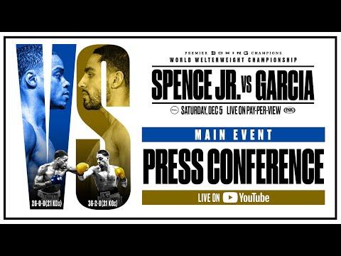 Main Event Press Conference | #SpenceGarcia