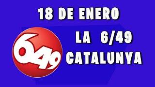 Resultado de La 6/49 de Cataluña del Lunes 18 de Enero de 2021