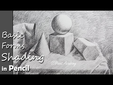 How to shade Basic 3D Forms  |  Pencil Shading Techniques