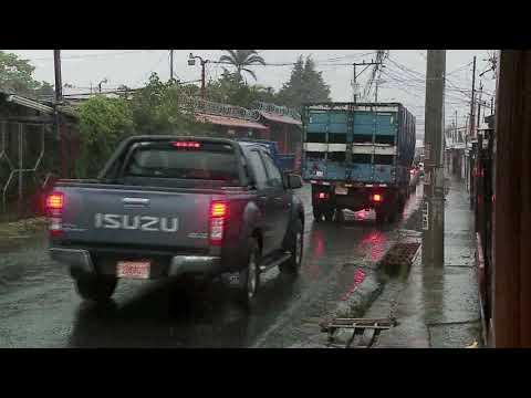 Condiciones lluviosas continuarán en todo el litoral Pacífico este domingo