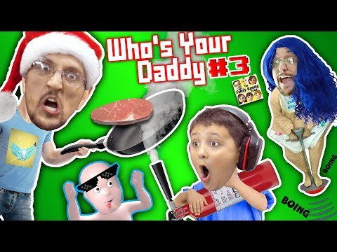 connectYoutube - WHO'S YOUR DADDY Part 3! FGTEEV plays 4 Challenges! Cooking, Washing, Breaking, Knocking #INSANE
