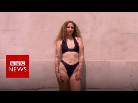'This is what a real body looks like' - BBC News