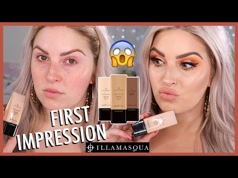 FIRST IMPRESSION ? Illamasqua Skin Base Foundation ? *CULT FAVORITE* ?