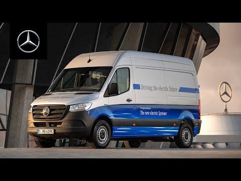 Meet Mercedes DIGITAL: The Mercedes-Benz Sprinter – 25th anniversary