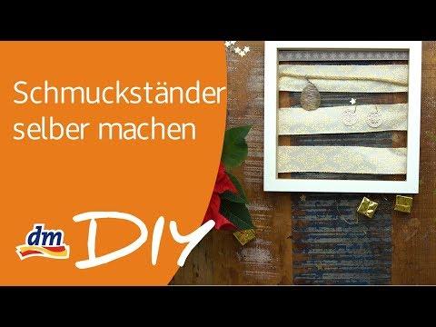 DIY Schmuckständer zum Verschenken