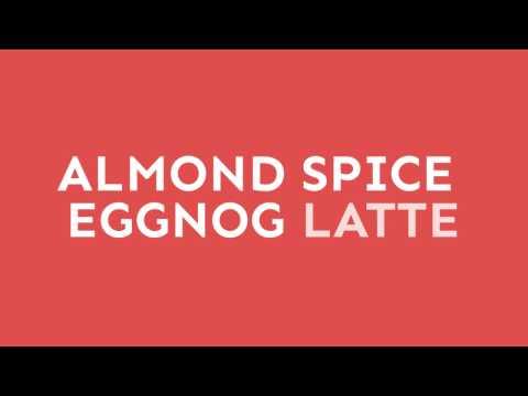 Almond Spice Tea Eggnog Latte
