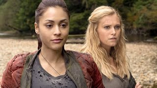 The 100 - Jason Rothenberg, Eliza Taylor, Lindsey Morgan Season 2 Interview - Comic Con 2014