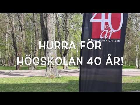 Högskolan Gävle 40 år