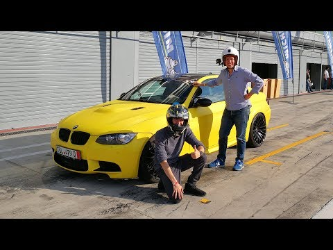 My First Trackday in my BMW M3 - Driving SIDEWAYS! w/ PassioneMotori (SUB ENG)