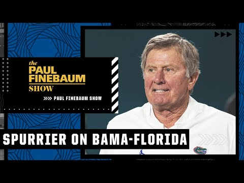 Steve Spurrier's keys to victory for Florida to beat Alabama   Paul Finebaum Show