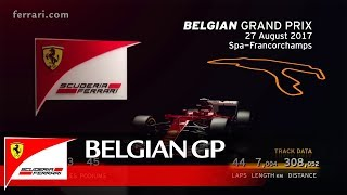 Belgian Grand Prix Preview – Scuderia Ferrari 2017
